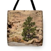Amazing Life On The Sandstone Cliffs Tote Bag