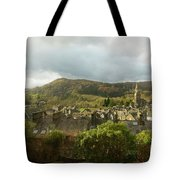 Ambleside Rooftops In The Lake District National Park Tote Bag