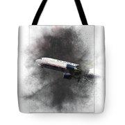 American Airlines Boeing 767-200 Painting Tote Bag