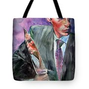 American Psycho Painting Tote Bag
