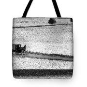Amish Country Lancaster Pennsylvania Bw Tote Bag