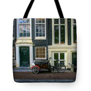 Amsterdam Bike Scene Tote Bag