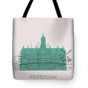 Amsterdam Landmarks Tote Bag