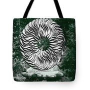 An Abstract Wooden Sculpture Tote Bag