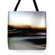 An Early Morning Blur Tote Bag