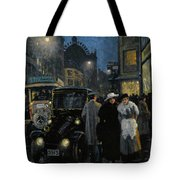 An Evening Stroll On The Boulevard Tote Bag