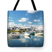 An Idyllic Boating Day Tote Bag