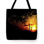 And On The Eighth Day Tote Bag