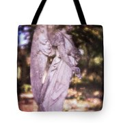 Angel Linen Tote Bag