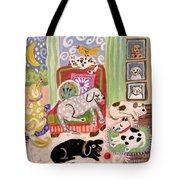 Animal Family 1 Tote Bag
