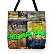 Animal Kingdom Custom Greeting Card Tote Bag