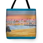 Anna At 61st Place #1 Tote Bag by Debbie Lewis