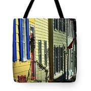 Annapolis Row Tote Bag