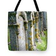 Annapolis Royal Gravestones Tote Bag