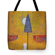 Another Day At The Office Original Painting Tote Bag