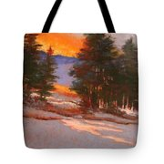 Another Winter Dawn Tote Bag