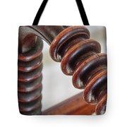 Antique Woodwork Tote Bag