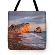 Aphrodite's Birthplace Or Petra Tou Romiou In Cyprus 2 Tote Bag