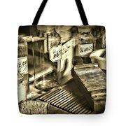 Apothecary-vintage Pill Maker Sepia Tote Bag