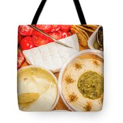 Appetizers Delight Tote Bag