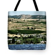 Apple Farming On The Hills Of Wenatchee Tote Bag