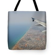 approach to Ben Gurion Airport, Israel w4 Tote Bag