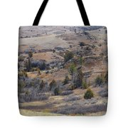 April Badlands Near Amidon Tote Bag