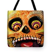 Aranas Sugarskull Of Spiders Tote Bag