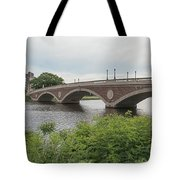 Arch Bridge Over River, Cambridge Tote Bag