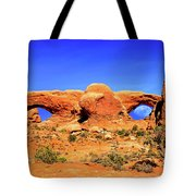 Arches Moon Eye Tote Bag by Greg Norrell