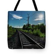 Arctic Express Tote Bag