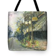 Argenta This Is Not Alices Restaurant Tote Bag