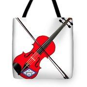 Arkansas State Fiddle Tote Bag