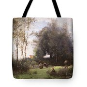 Arleux-palluel The Bridge Of Trysts Tote Bag