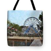 Arnolds Park - Grunge Look Tote Bag