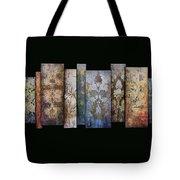 Art Panels - Antique Wallpaper  Tote Bag