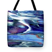 Art Upon The Water Tote Bag