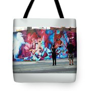Artists Record The Moment Tote Bag