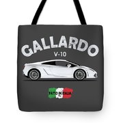 Lamborghini Gallardo Tote Bag by Mark Rogan