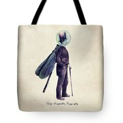Inspector Dragonfly Tote Bag by Eric Fan