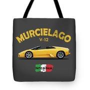 The Lamborghini Murcielago Tote Bag