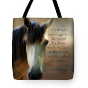 If Horses Could Talk - Verse Tote Bag