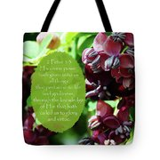Chocolate Divine - Verse Tote Bag