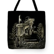 Out Of Shadow Tote Bag