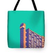 Trellick Tower London Brutalist Architecture - Plain Green Tote Bag