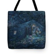 Trapp Family Lodge Cabin Sunrise Stowe Vermont Tote Bag