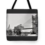 Penobscot Narrows Bridge And Observatory Tote Bag