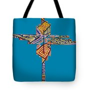 The Abstract Cross Tote Bag
