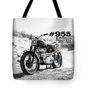 No 955 Mcqueen Desert Sled Tote Bag