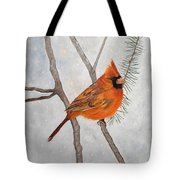 Fire On Ice Tote Bag
